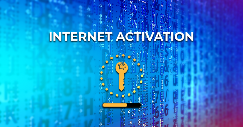 Software license internet activation